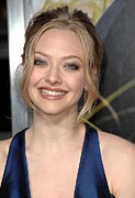 Updo Framed Prints - Amanda Seyfried At Arrivals For Dear Framed Print by Everett