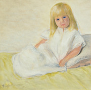 Nightgown Paintings - Amanda by Susan Fuglem