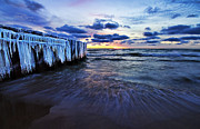 Lake Michigan Prints - Amazing Colors Print by Joe Gee
