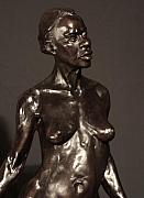 African American Sculptures - Amazing Grace close up view by Dan Earle