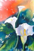 Pouring Paintings - Amazing Grace by Liz McQueen