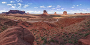 Berge Art - Amazing Monument Valley by Andreas Freund