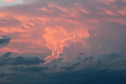 Amazing Landscape Prints - Amazing Pink Cloud Print by Christy Patino