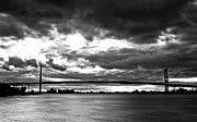 Ambassador Framed Prints - Ambassador Bridge Framed Print by Brandon Broderick
