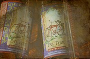 Fat Tire Prints - Amber Ale Print by Jan Amiss Photography