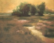 Evening Sky Pastels - Amber Evening by Ruth Stromswold