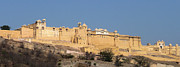 Amber Fort Prints - Amber Fort Panorama Print by Ron Rothbart