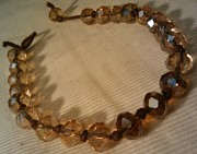 Bangle Jewelry - Amber Swarovski Rope Bracelet by Tashamee Dorsey