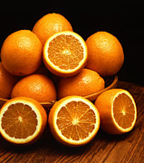 Citrus Fruits Posters - Ambersweet Orange Poster by Photo Researchers