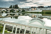 Photogaph Art - Amboise Bridge by Josh Whalen