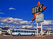 Film Photos - Amboy Bus Close-UP by Matthew Bamberg