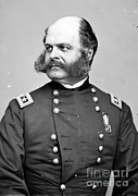 Ambrose Burnside Prints - Ambrose Burnside, Union General Print by Photo Researchers