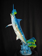 Marine Life Sculptures - Ambush by John Townsend