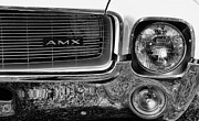 American Motors Corporation Prints - Amc Amx Print by Paul Ward