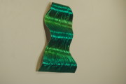 Color Sculpture Originals - Amelia Falls in Green by Keith Branden