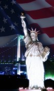Statue Of Liberty Mixed Media - America - The way of a free soul by Dan Nita