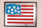 Flag Sculptures - America Edition 3 by Mac Worthington