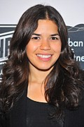 Blues Eyes Prints - America Ferrera At The After-party Print by Everett