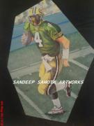 Blockbuster Art - America Football by Sandeep Kumar Sahota