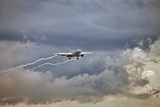 After The Rain Photo Prints - American aircraft landing Print by Juan Carlos Ferro Duque