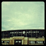 Iphonesia Acrylic Prints - American Airlines Hanger Acrylic Print by Natasha Marco