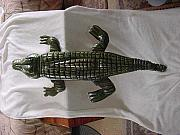 Hand Reliefs - American Alligator-SOLD by Lisa Ruggiero
