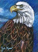 John Keaton Art - American Bald Eagle by John Keaton