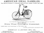 The Rambler Prints - American Bicycle, 1890 Print by Granger
