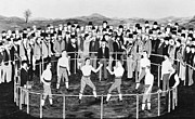 Boxer Photo Framed Prints - AMERICAN BOXING, c1860 Framed Print by Granger
