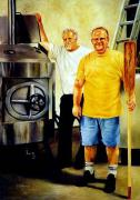 Gregg Hinlicky Art - American Brewer Gothic by Gregg Hinlicky