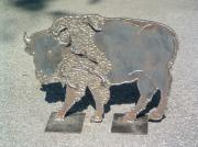 Bison Sculpture Originals - American Buffalo by Buzz Ferrell