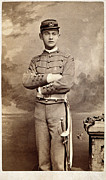 1880s Framed Prints - AMERICAN CADET, c1870 Framed Print by Granger