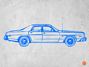 Iconic Car Prints - American Car Print by Irina  March
