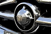 Antic Car Prints - American chrome Print by David Lee Thompson