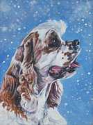 American Cocker Spaniel Print by Lee Ann Shepard