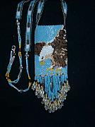 Featured Jewelry - American eagle amulent bag by mary Miller