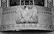 American Eagle Photos - American Eagle Detail at a Federal Building in Los Angeles California  by Carol M Highsmith