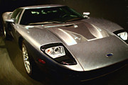 Collectors Digital Art - American Ford GT - Painterly - 7D17252 by Wingsdomain Art and Photography