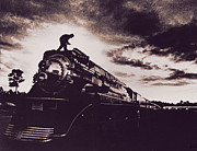 American Freedom Train Print by Jim Wright