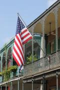 Ironwork Prints - American French Quarter Print by Lauri Novak