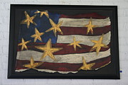 Stars And Stripes Mixed Media - American Glory by Tracey Brockhoeft Farrell
