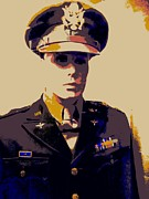 Dress Uniform Posters - American Hero 1 Poster by Randall Weidner