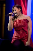 Inaugural Prints - American Idol Jordin Sparks Performs Print by Everett