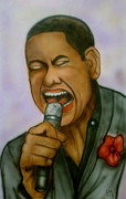 Idol Drawings - American Idol by Pete Maier