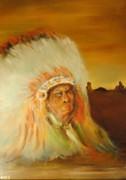 American Indian Print by James Higgins