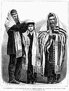 Prayer Shawl Framed Prints - American Judaism, 1877 Framed Print by Granger
