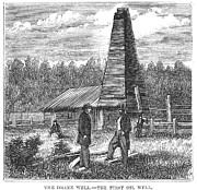 Drake Art - American Oil Well, 1859 by Granger