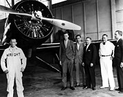 Wright Photos - American Pilot Charles Lindbergh by Everett