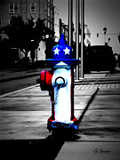 Towns Digital Art - American Pride by Lj Lambert