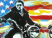 James Dean Painting Originals - American Rebel by A Parker